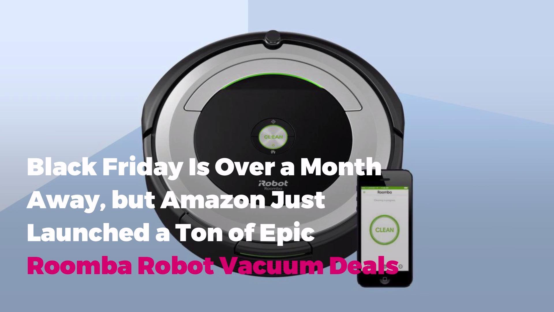 Black Friday Roomba Robot Vacuum Deals