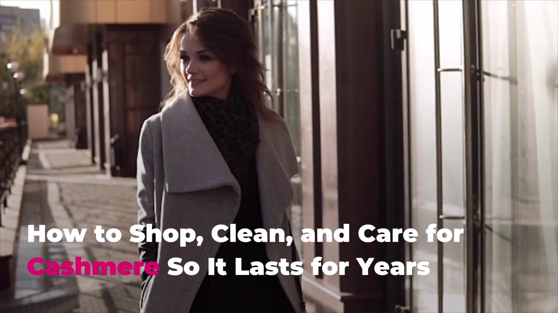 How to Shop, Clean, and Care for Cashmere So It Lasts for Years