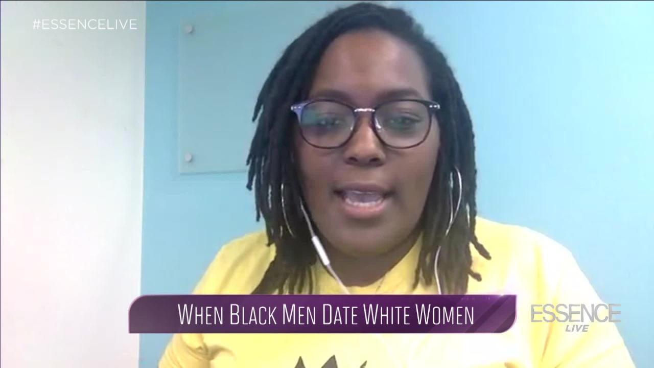 Dating a white man vs black man