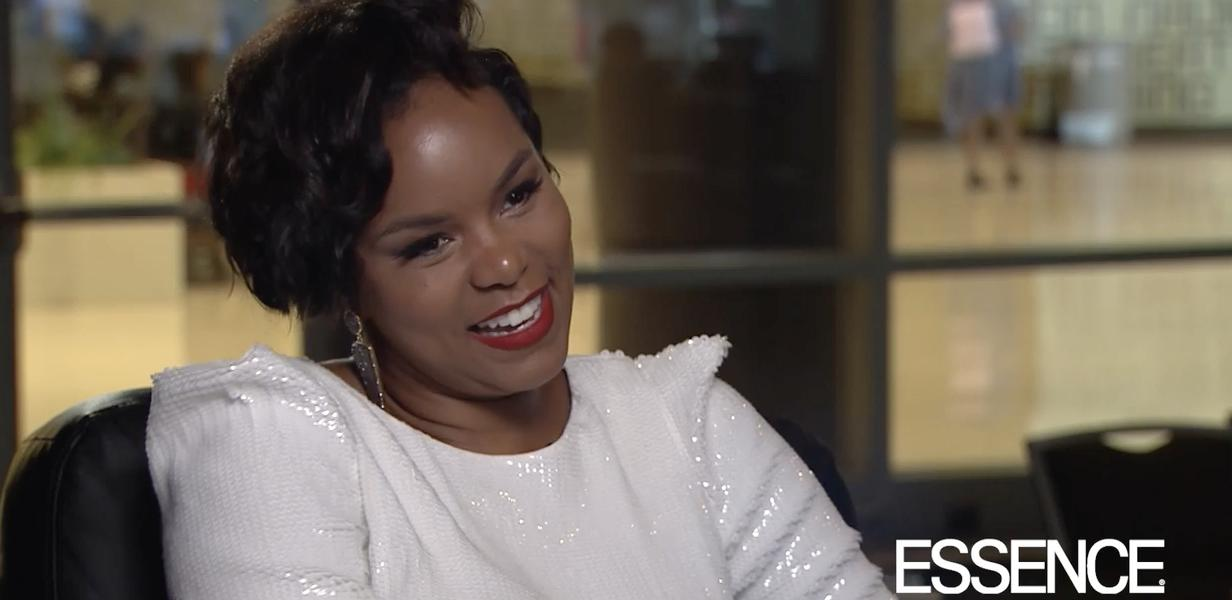 Date Night Letoya Luckett Is All Smiles With Her Husband And