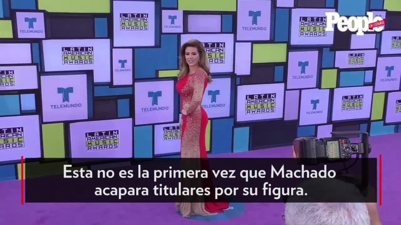 Alicia Machado enseña de mas con atrevido vestido   People en Español